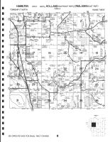 Hamilton Township - West, Holland Township - Southeast, Onalaska Township - East, Holmen, La Crosse County 1983